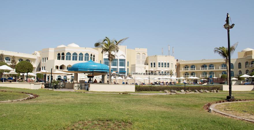 Anlage im Kairaba Mirbat Resort