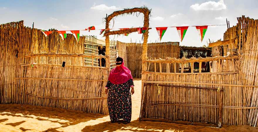 Beduinendorf im Oman