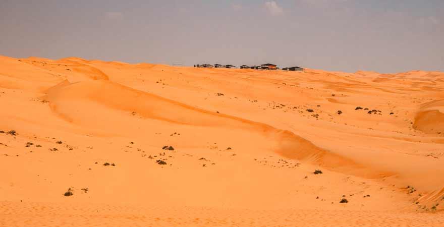 Desert Camp im Oman