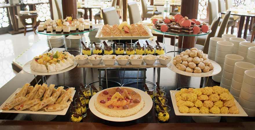 Dessert Buffet im Kairaba Mirbat Resort