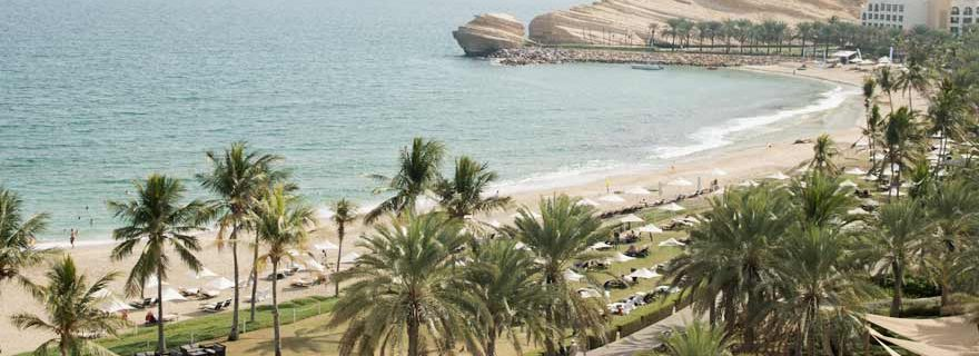 Luftbild der Anlage des Hotels Bandar in Muscat