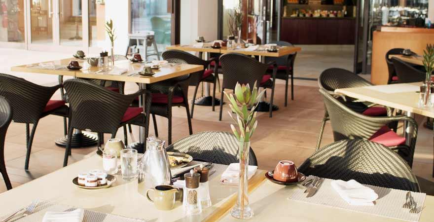 Restaurant des Hotel Bandar in Muscat