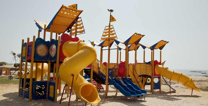 Spielplatz im Kairaba Mirbat Resort