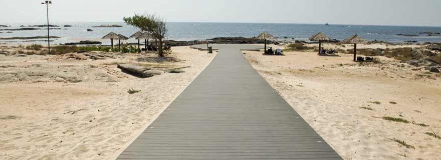 Strandweg im Kairaba Mirbat Resort