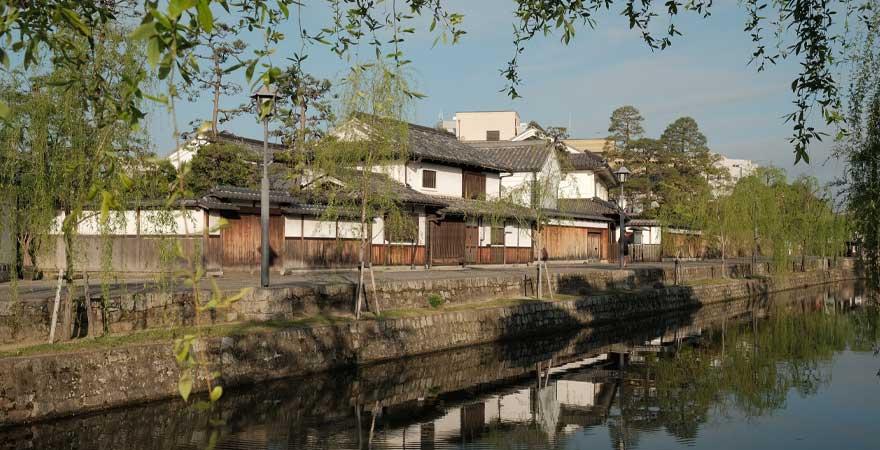 kanal in Kurashiki in Japan