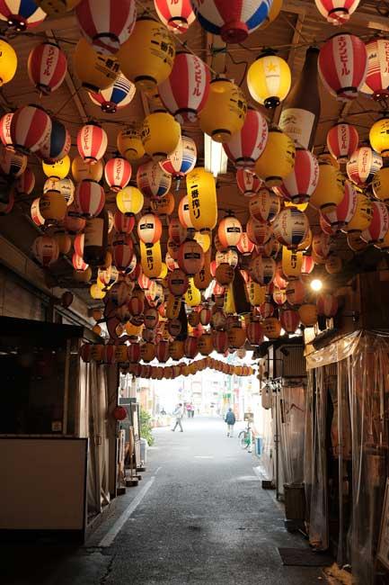 Lampion in Osaka