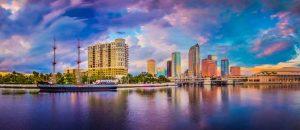 skyline von Tampa