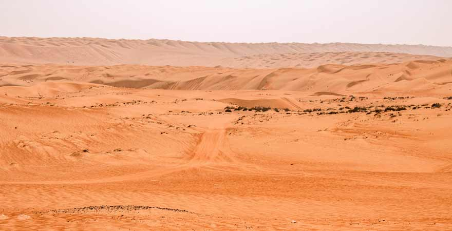 Wueste im Oman