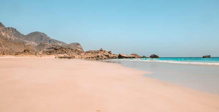 Fazaya Beach bei Salalah