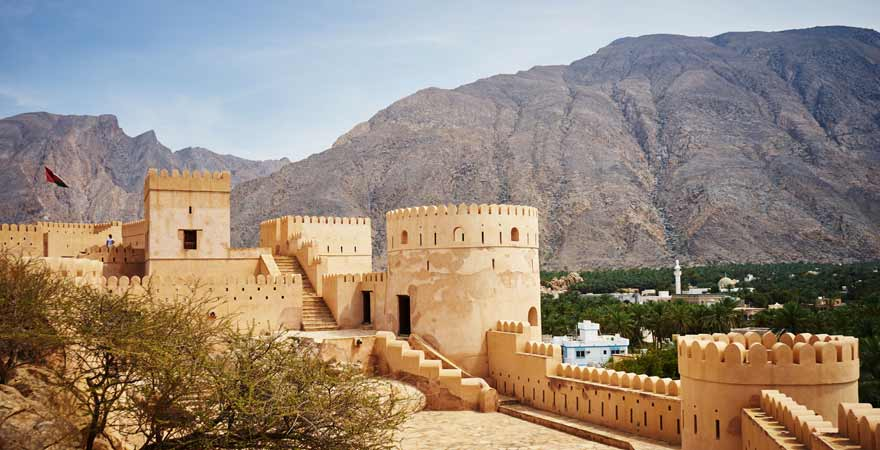 Fort Nakhal im Oman