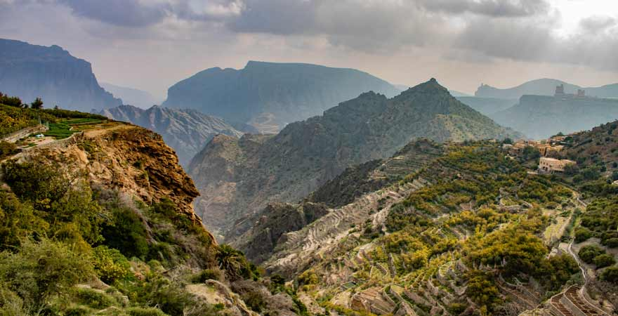 Jebal Akhdar im Oman