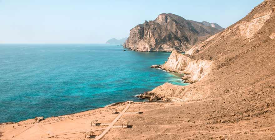 Mughsail Beach bei Salalah