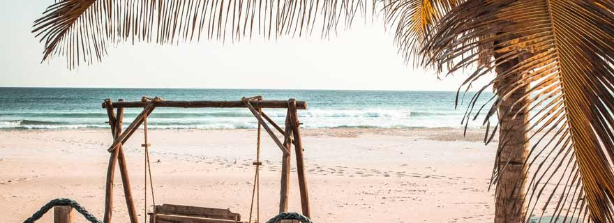 Strand Souly Eco Lodge bei Salalah