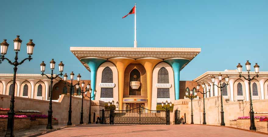 Sultanspalast in Maskat