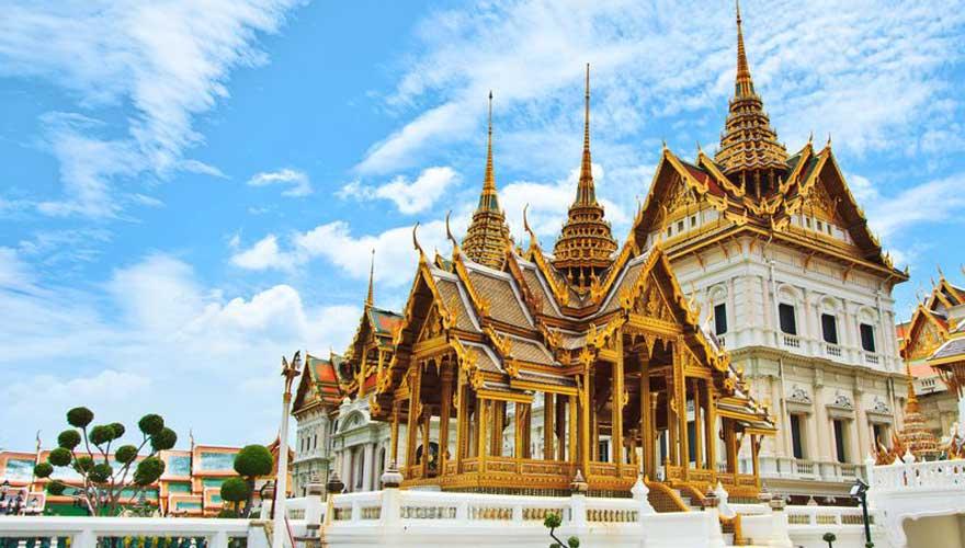 Royal Grand Tempel in Thailand