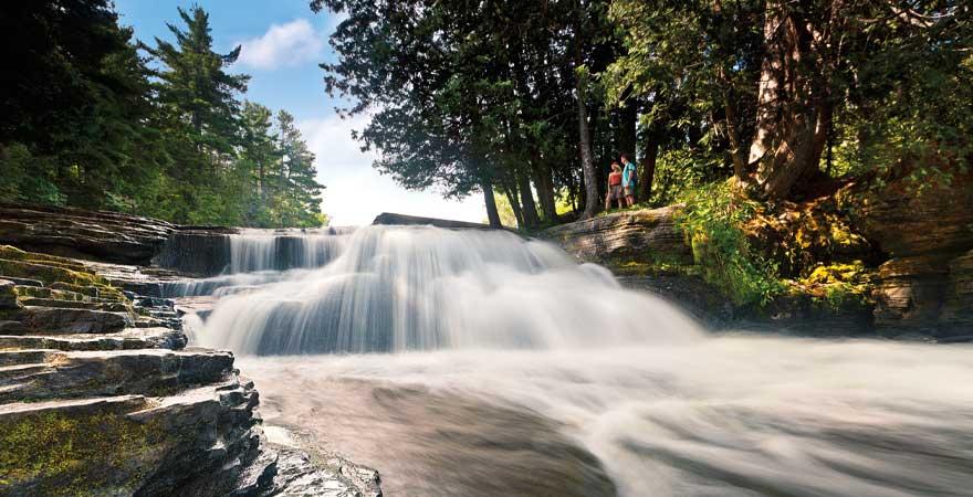 Tahquamenon Wasserfall