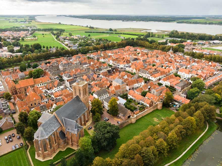 Elburg in Holland
