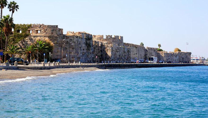 Festung Neratzi in Kos Stadt