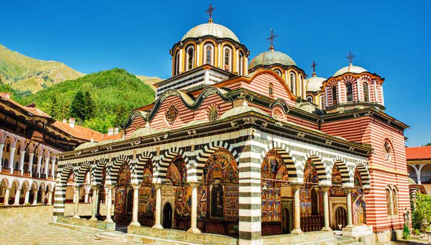 kloster rila in Bulgarien