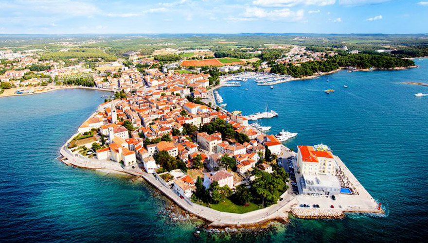 porec in Istrien