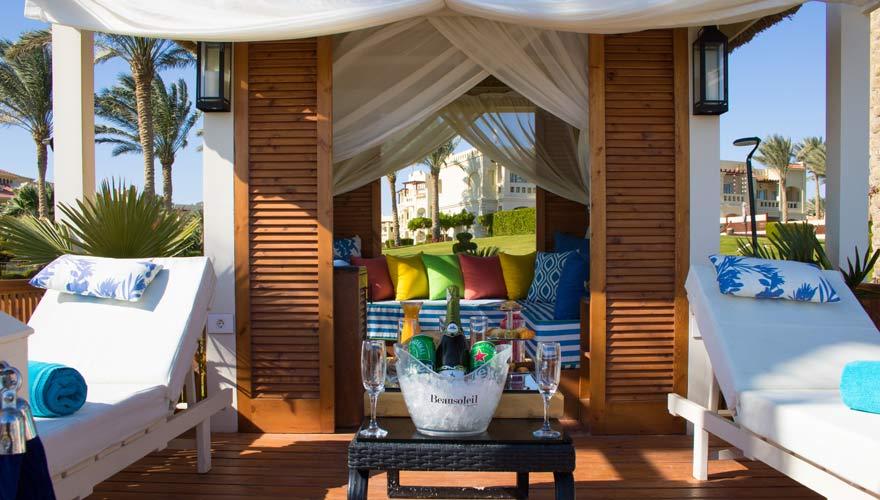 Cabana vom Rixos Sharm el Sheikh