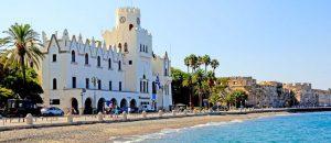 strandpromenade in Kos