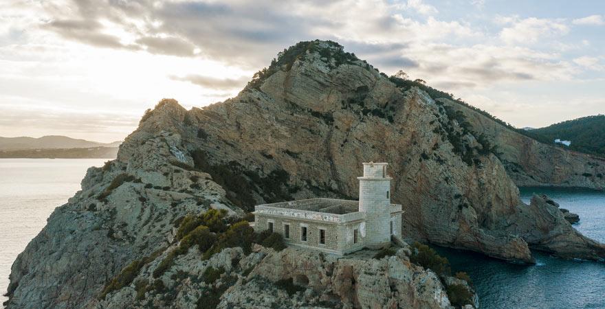 Faro de Punta Grossa in Ibiza