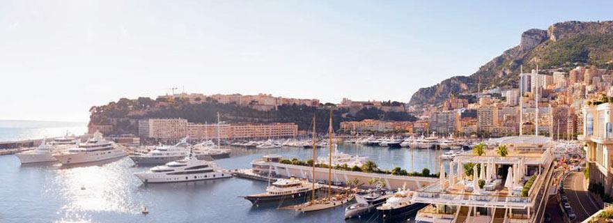 hafen in Monaco