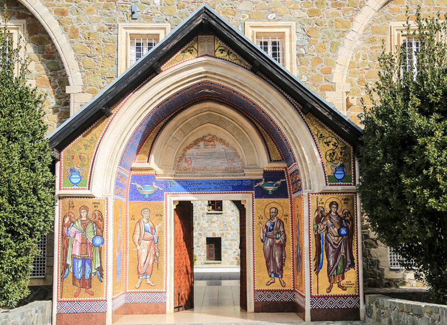 Kloster kyykos auf Zypern
