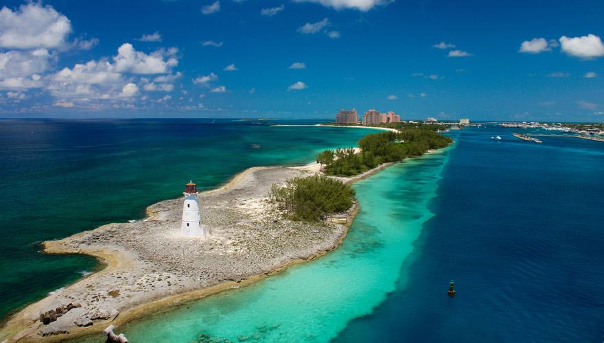 Leuchtturm bei Nassau auf den Bahamas