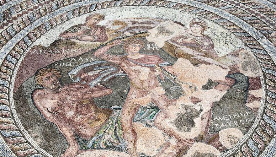altes Mosaik in Paphos