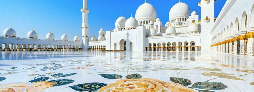 Scheich Zaydid Moschee in Abu Dhabi