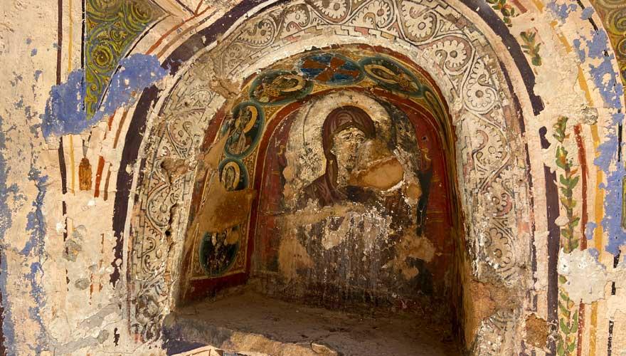 Wandikone im Katharinenkloster auf dem Sinai