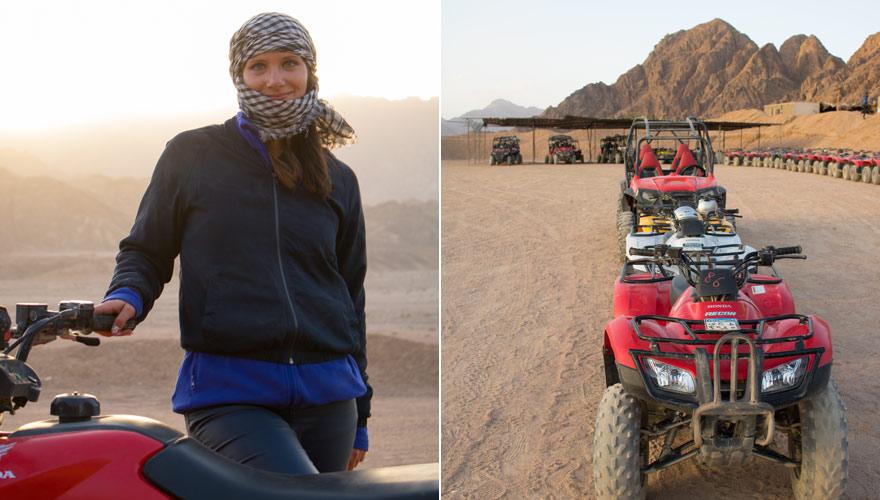 Quad Safari in der Wüste von Sharm el Sheikh