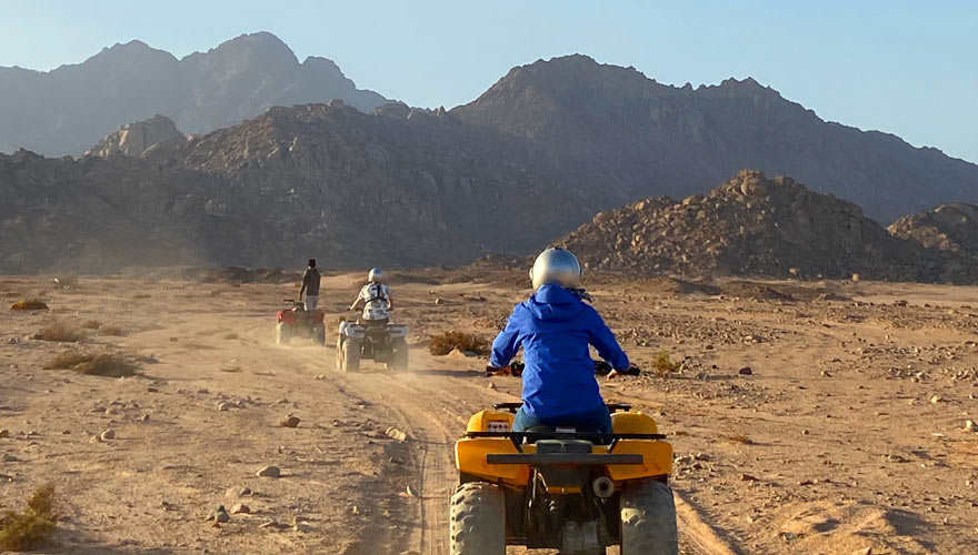 5 in Quad Safari Sharm el Sheikh