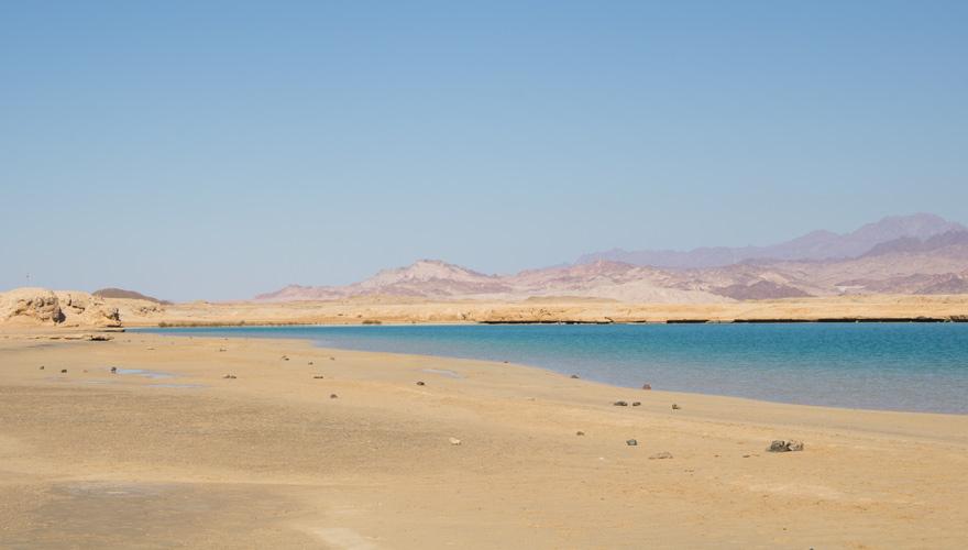 Magic Lake im Ras Mohammed Nationalpark