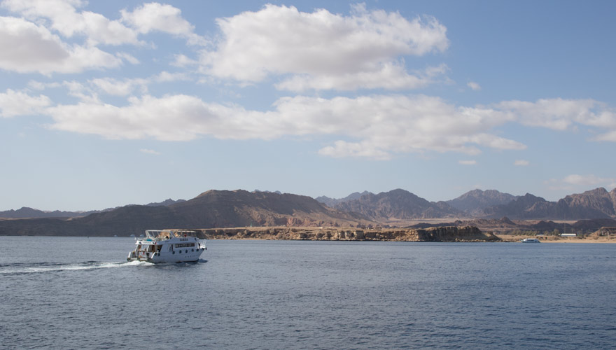 Tauchausflug in Sharm El Sheikh Boot