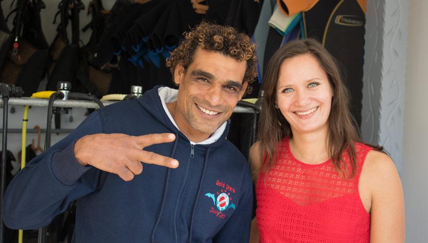Tauchlehrer Suisra von Gold Stars Diving