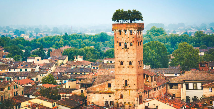 Lucca in Italien