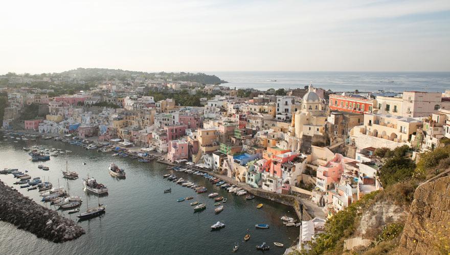 Procida in Italien