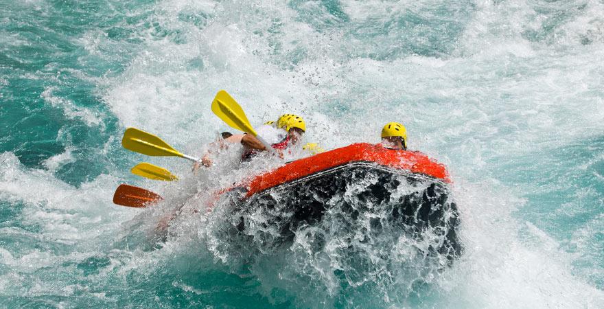 Rafting im Abu Dhabi