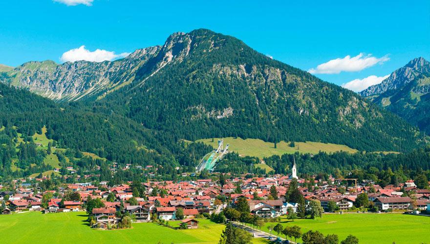 Oberstsdorf in Bayern