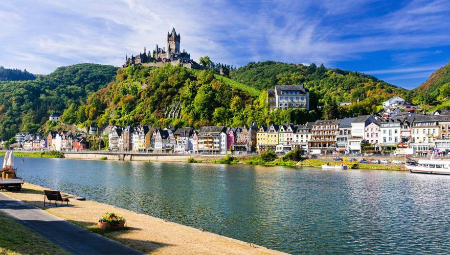 Burg im Rheinland