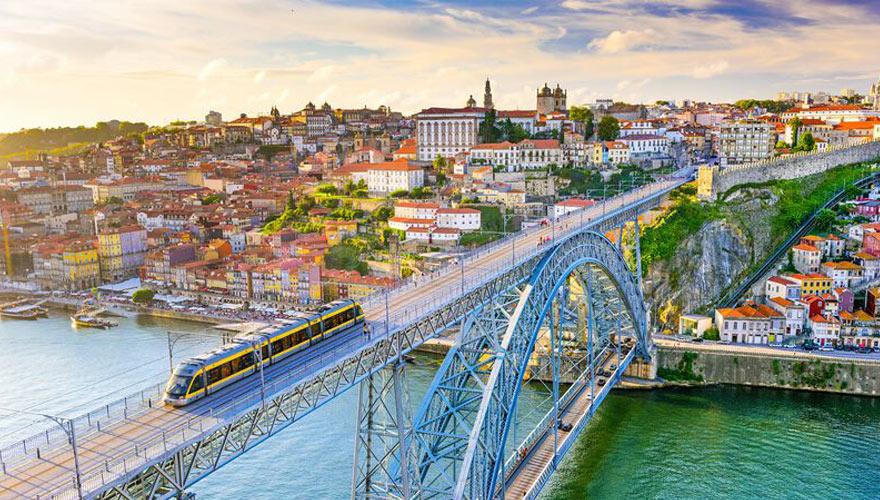 Brücke Ponte Luis in Porto