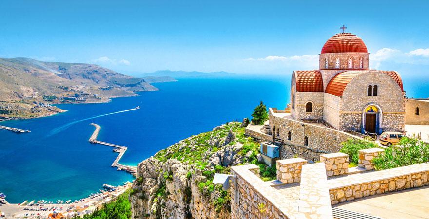 Aussicht Griechenland