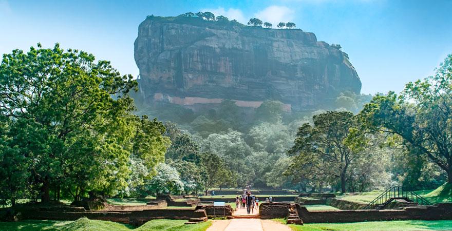 Berg in Sri Lanka