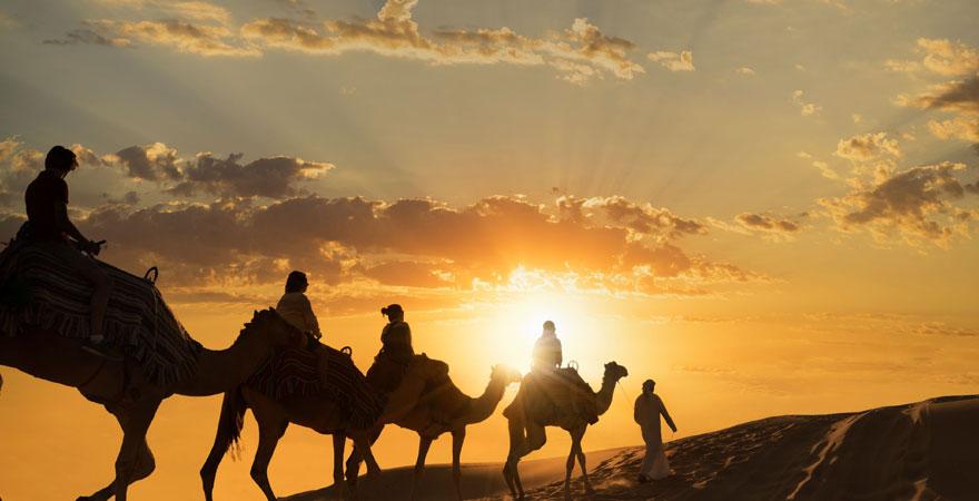 Wüstentour in den Vereinigte Arabische Emirate