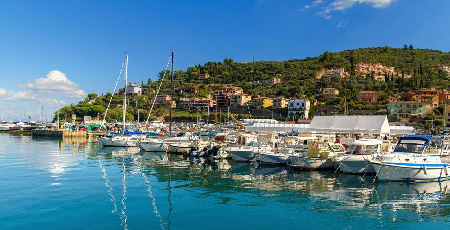 Hafen Porto Santo