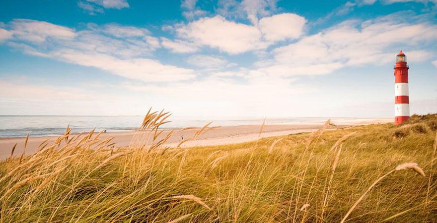 Strand auf der Insel Amrum