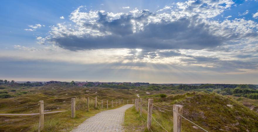 Landschaft auf der Insel Baltrum